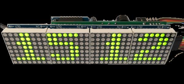 LW Multifunctional clock KIT-green