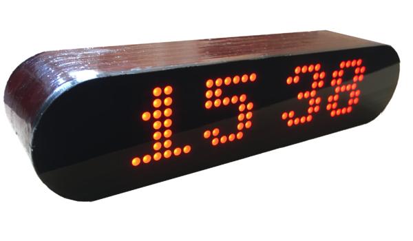 DIY plywood enclosure case for LW-Clock