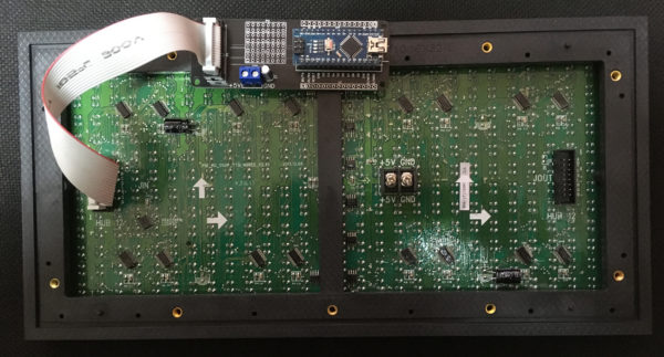 P10 Matrix Panel Shield for Arduino Nano